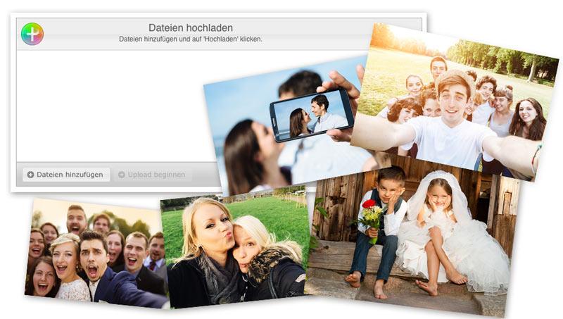 Hochzeitshomepage
